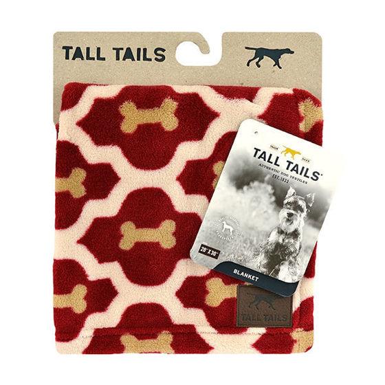 Εικόνα της Tall Tail Κουβέρτα Red Bone