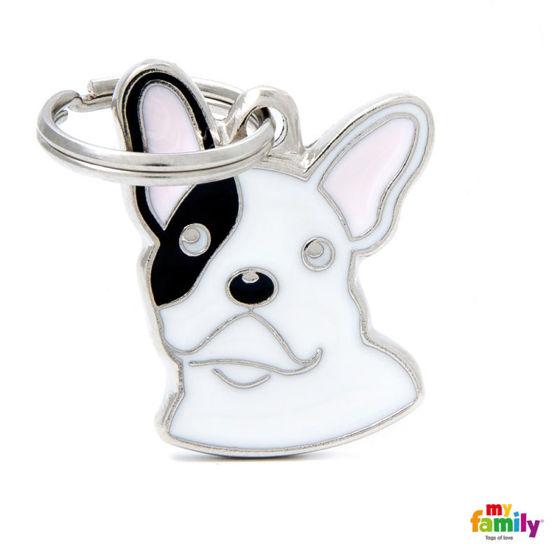 Εικόνα της Ταυτότητα Friends French Bulldog Λευκό