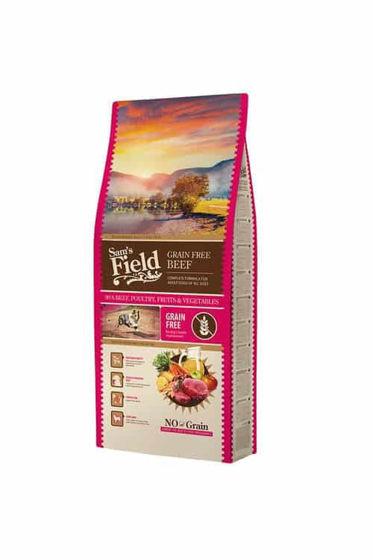 Εικόνα της Sam's Field Grain Free Beef 13kg