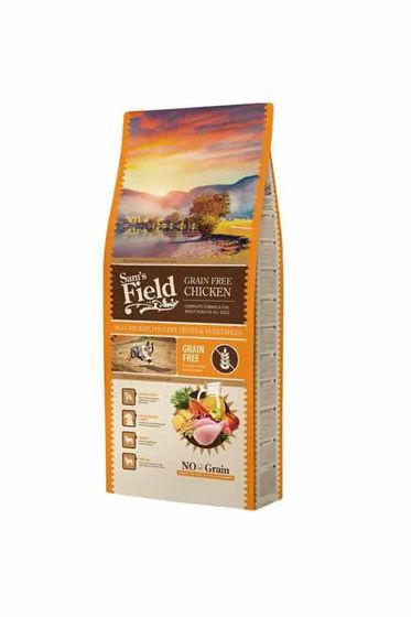 Εικόνα της Sam's Field Grain Free Run Chicken 13kg
