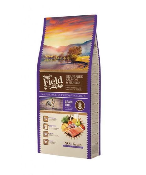 Εικόνα της Sam's Field Grain Free Salmon 13kg