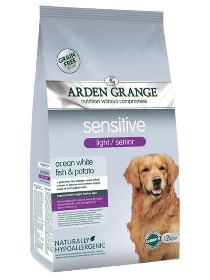 Εικόνα της Arden Grange Sensitive Light/Senior 12kg