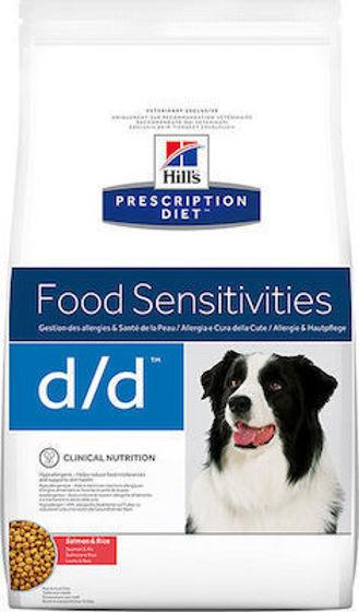 Εικόνα της Hill's Prescription Diet d/d Food Sensitivities με Σολομό & Ρύζι 12kg