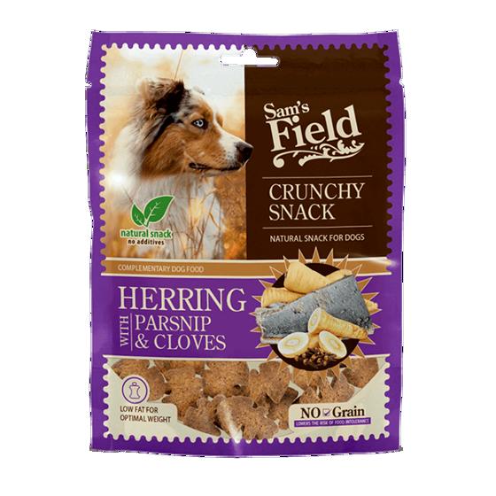 Εικόνα της Sam`s Field Crunchy Cracker Ρέγκα Με Παστινάκι & Γαρίφαλο 200gr