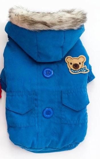 Εικόνα της Μπουφαν Σκύλου Αρκουδάκι Μπλε